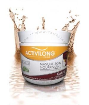 Masque-soin Nourrissant Karité et protéines de plantes