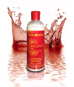 Intensive Conditioning Treatment with Argan Oil