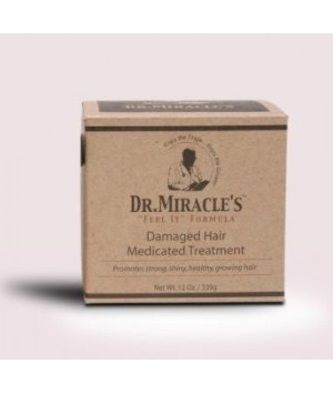 Damaged hair medicated treatment