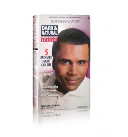 Coloration couleur naturel noir naturel