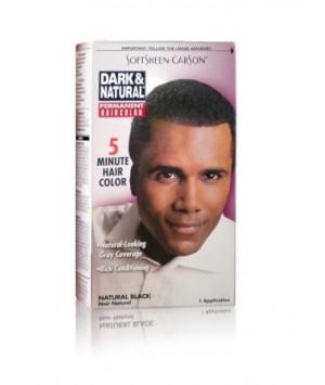 Coloration couleur naturel noir naturel