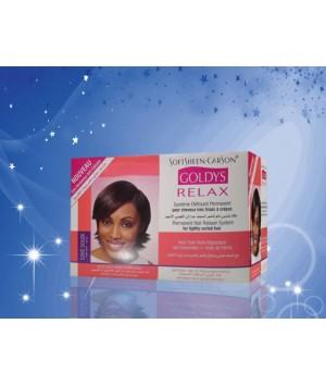Système Défrisant RELAX Permanent pour cheveux très frisés à crépus