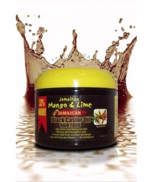 Black Castor Oil Hair Food