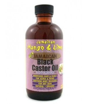 Black Castor Oil Lavender