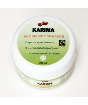 Pure Beurre de Karité à l'huile essentiel de lavande