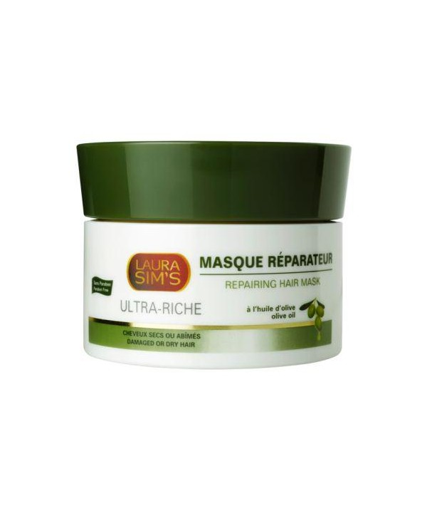 masque r parateur l 39 huile d 39 olive laura sim 39 s les produits afro tamelia beauty shop. Black Bedroom Furniture Sets. Home Design Ideas