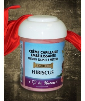Crème Capillaire Embellissante Hibiscus