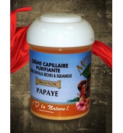 Crème Capillaire Purifiante Papaye