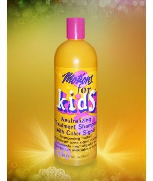 Shampooing traitant neutralisant avec signal couleur for kids