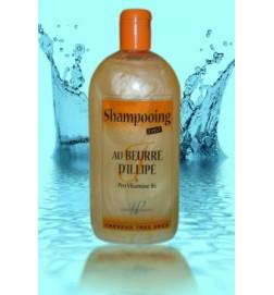 Shampooing au beurre d'illipé 2n1