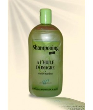 Shampooing à l'huile d'onagre 2n1