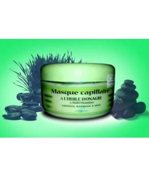 Masque capillaire à l'huile d'onagre & Multi vitamines