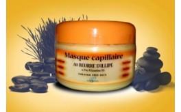 Masque capillaire au beurre d'illipé