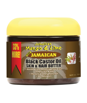 Black Castor Oil Skin and Hair Butter