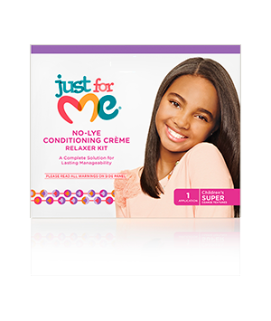 No Lye Conditioning Crème Relaxer Kit children's