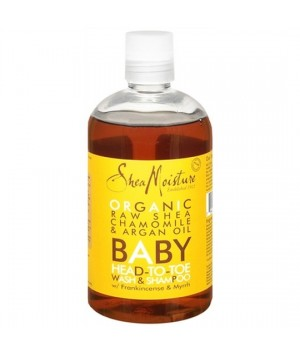 Shampooing  douche pour Bébé au pur beurre de Karité