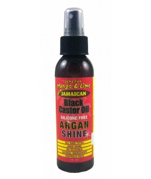 Black Castor Oil Soin Brillance Argan sans Silicone