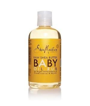Huile de Massage pour Bébé au pur beurre de Karité