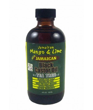 Black Castor Oil Arbre de Thé