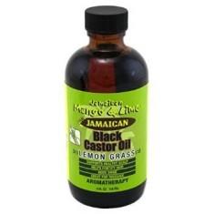Black Castor Oil Lemon Grass