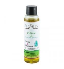 Huile d'Olive et Menthe Poivrée