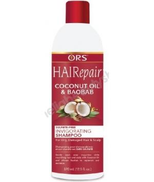 HAIRepair Shampoing Revigorant huile de Coco et Baobab
