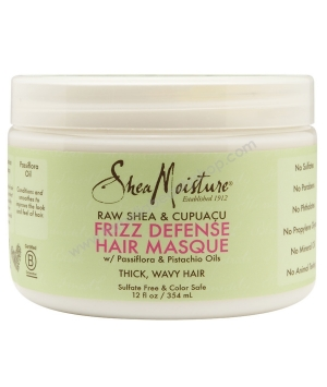 Raw Shea Cupuaçu Mommy Frizz Defense Hair Masque