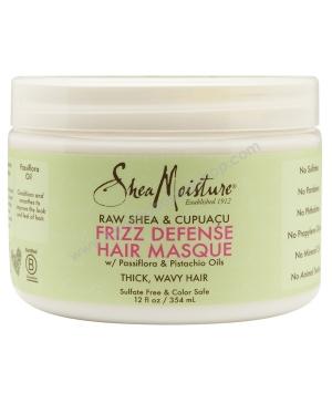 Raw Shea Cupuaçu Mommy Frizz Defense Hair Masque