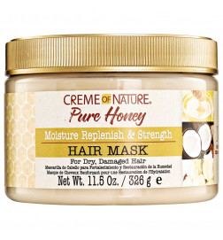 Pure Honey Masque de cheveux Renforçant et de Restauration