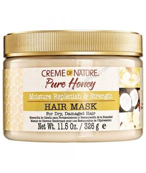 Pure Honey Masque de cheveux Renforçant et de Restauration