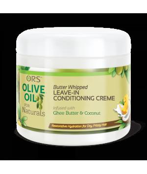 ORS Crème Revitalisante sans Rinçage Fouetté au beurre à l'huile d'olive