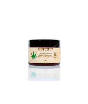 Revitalisant sans rinçage naturel à l'huile de cannabis Sativa