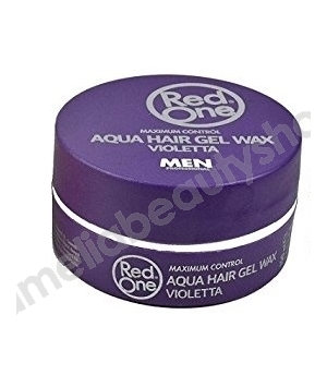 Red One Maximum Control Aqua Hair Gel Wax Violet