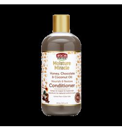 Revitalisant au miel, au chocolat et à l'huile de noix de coco