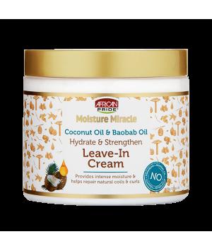 Crème sans rinçage à l'huile de coco et à l'huile de baobab