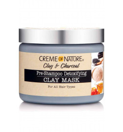 Clay and Charcoal Pre-Shampoo Detoxifying Clay Mask