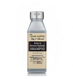 Clay and Charcoal Soften & Moisture Replenish Shampoo
