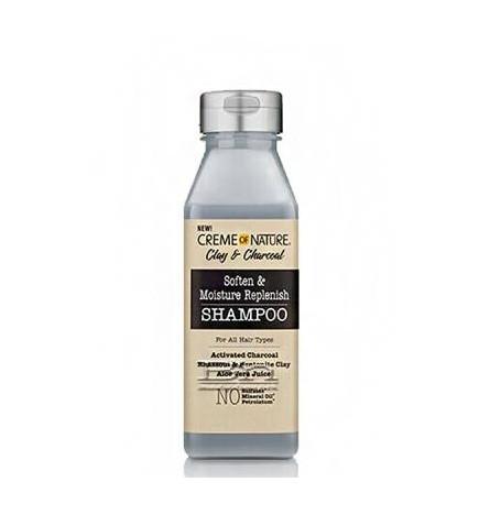 Clay and Charcoal Soften & Moisture Replenish Shampoo
