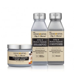 Pack Clay and Charcoal de Creme of Nature