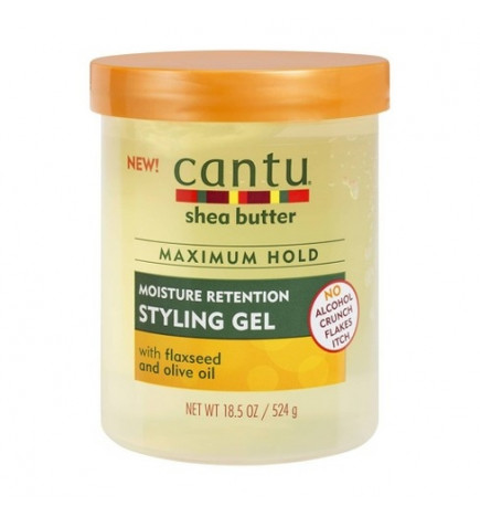 Moisture Retention Styling Gel Flaxseed and Olive Oil