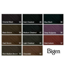 liste de coloration bigen