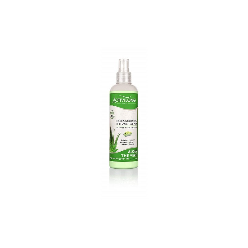 Spray Bi-Phase Hydro Nutritif Aloes et thé vert Activilong