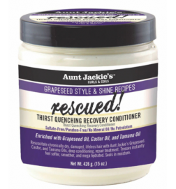 Grapseed Rescued ! Thirst Quenching Recovery Conditioner Aunt Jackie's