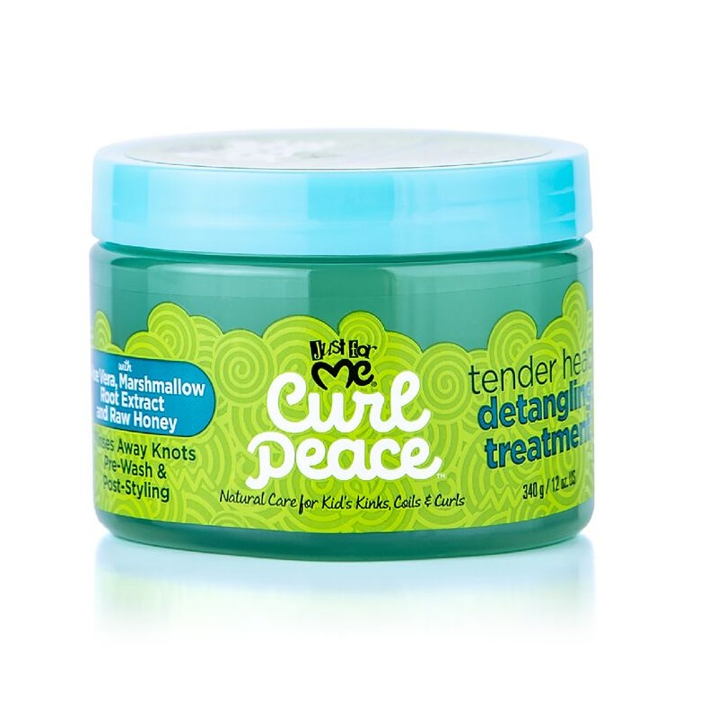Curl Peace Tender Head Detangling Treatment Just for Me