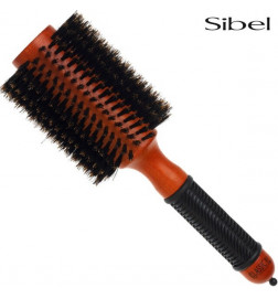 Brosses rondes radiales Brushing 100% poils de sanglier Sibel 75mm