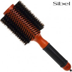 Brosses rondes radiales Brushing 100% poils de sanglier Sibel 75mm