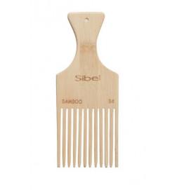 Peigne Afro en bois de Bamboo
