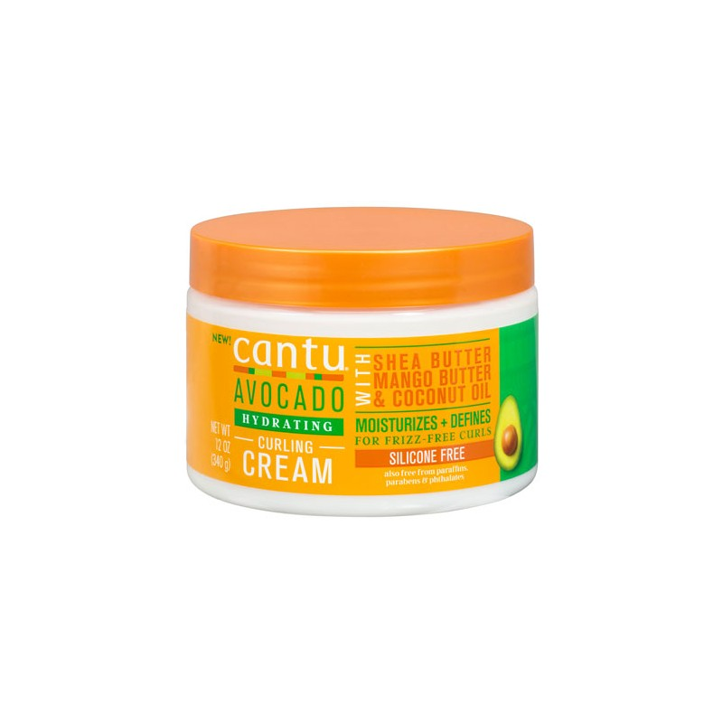 Avocado Hydrating Curling Cream Cantu