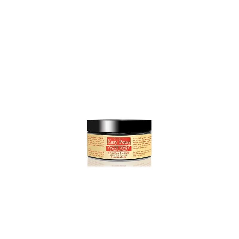 Cire Coiffante Colorante Easy Pouss marron