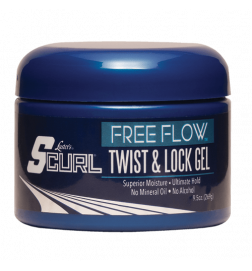 Scurl Free Flow Twist & Lock Gel